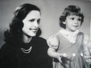 Mom and me when I was about 3 years old