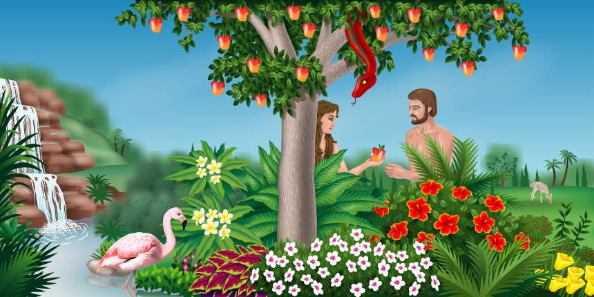 What\'s Your Apple In The Garden of Eden? - SHERRY BRISCOE